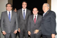 Zezinho Albuquerque, Camilo Santana, Roberto Claudio e Roberto Farias