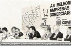 Melhores Empresas Comerciais, Industriais e Agropecuárias do Ceará | 1990 | 1º Edição