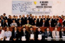 Melhores Empresas Comerciais, Industriais e Agropecuárias do Ceará | 1997 | 8º Edição